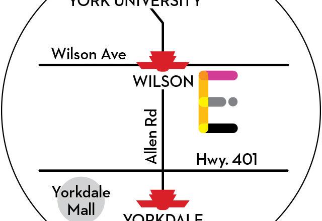 Express Condos map