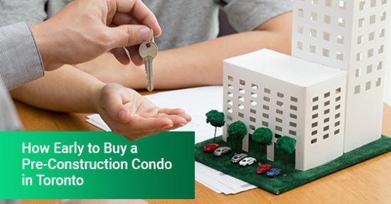 A women buying a pre-construction condo in Toronto
